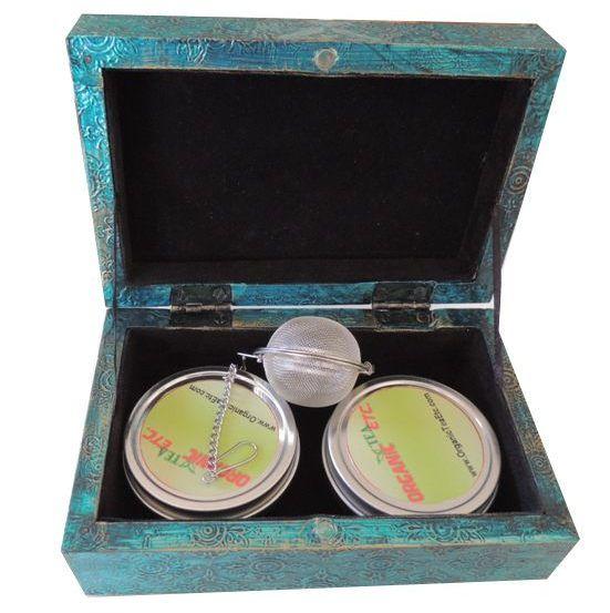 Hand crafted tea gift box