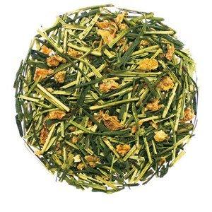 Green tea with orange