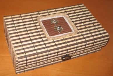 Hand made bamboo tea sampler gift box