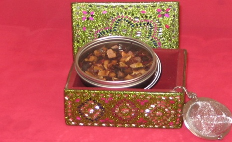 Tea sampler Indian style gift box