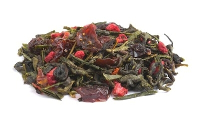 Organic Green Tea Pomegranate