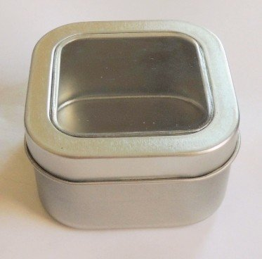 Square Display Tin