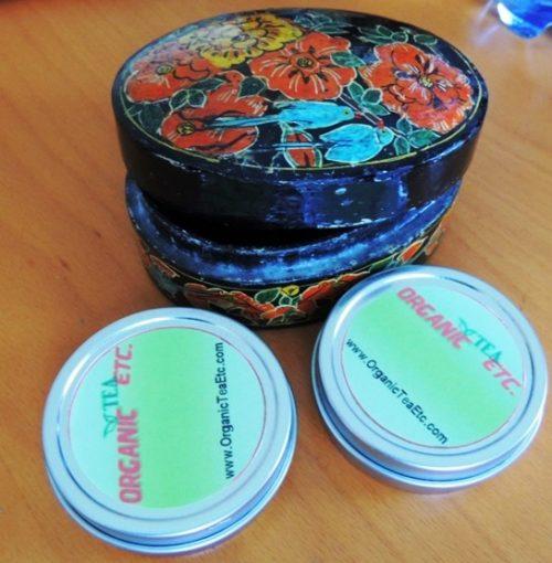 Kashmiri Black Red tea box