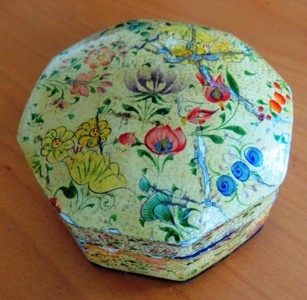 Kashmiri floral Tea gift Box