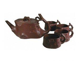 Asian style tea set