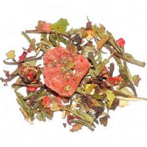 Ginger Strawberry tea